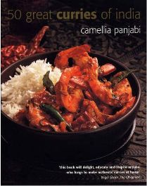 50 Great Curries of India By Camellia Panjabi, Illustrated by Peter Knab
