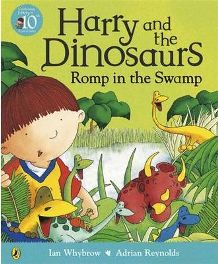 Romp in the Swamp  By (author) Ian Whybrow, Illustrated by Adrian Reynolds