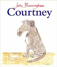 Courtney (Red Fox picture books) By John Burningham, Illustrated by John Burningham