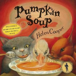 Pumpkin Soup by Helen Cooper, book review