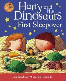 Harry and the Dinosaurs First Sleepover, Ian Whybrow, book review
