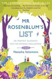 Mr. Rosenblum's List: Or Friendly Guidance for the Aspiring Englishman by Natasha Solomons, book review
