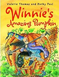 Winnie's Amazing Pumpkin by Valerie Thomas, Illustrated by Korky Paul, book review