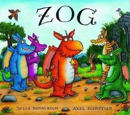 Zog by Julia Donaldson, illustrated by Axel Scheffler, book review