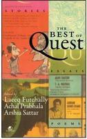 The Best of Quest, Laeeq Futehally, Achal Prabhala , Arshia Sattar , book review