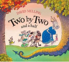 Two by Two and a half by David Melling, book review