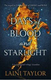 Days of Blood and Starlight, Laini Taylor, book review