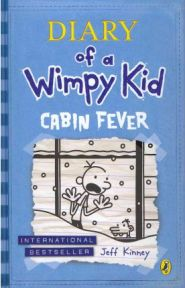 Diary of a Wimpy Kid Cabin Fever, Jeff Kinney, book review