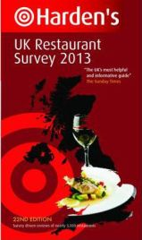 Harden's UK Restaurant Survey 2013, Richard Harden, Peter Harden, book review
