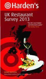 Harden's UK Restaurant Survey 2013, Richard Harden, Peter Harden, book review