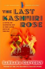 The Last Kashmiri Rose by Barbara Cleverly, book review