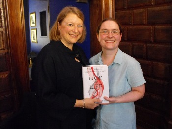 Curious Book Fan attends launch of Deborah Harkness' The Book of Life